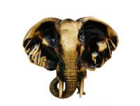 Wholesale elephant hanging ornaments living room European decorative pendant retro wall ornaments American wall ornaments