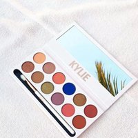 Wholesale More stock Kylie Jenners color Eyeshadow palette with pen Cosmetics The new color Eyeshadow Palette Preorder Kyshadow