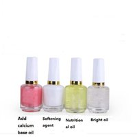 base nutrition - Nail polish nail softener bright oil nutrition oil base armor oil set ML factory direct Manicure set tools