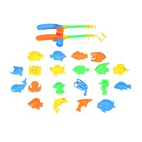 Wholesale Baby Children Magnetic Fishing Toys Fishing Rods Various Fish Model