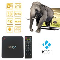 Wholesale 2017 New M9X S905 Quad Core Android TV Box GB GB Marshmallow G WIFI M LAN K Kodi Media Player Bluetooth pk H96 Pro Plus