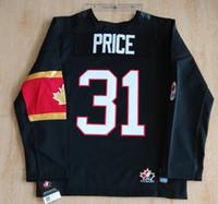 Cheap Youth kids Canada OLYMPIC Jersey 31# Carey Price 37# Patrice Bergeron 61# Rick Nash 76# PK Subban Jerseys