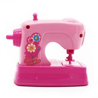 Wholesale MICHLEY Housekeeping Playset Plastic Sewing Machine for Kids Pretend Play Beautiful Toys Gifts ABS Material ZJ pretend