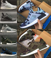 Flat america art - 2017 New NMD XR1 Blue White Captain America Sneakers Women Men Youth Running Shoes High Quality NMD XR1