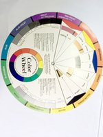 artist color wheel - Large Artist Colour Wheel Swatches Permanent Makeup Micro Pigment Color Wheel Tattoo Training Tools