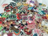Kawaii dessin animé plats arrière planar résine Mix Pink Big Mickey Minnie ours Figurine fée jardin décoration artisanale bricolage arc cheveux accessoires