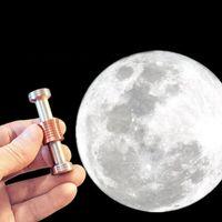 Wholesale Moondrop Fidget Desk Toy Displaying gravity on the MOON toys Moondrops Clamshell Moon Fidget Spinner anti Stress Toys