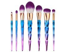 Wholesale 2017 New Brush kit Professional Vander Cream Power Professional Makeup Brushes Multipurpose Beauty Cosmetic Puff Batch Kabuki Blusher
