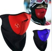 Wholesale Adult Half Face mask Winter Cycling snowboard Sport Masks anti Pollution colors cm Spandex Lycra unisex mask