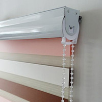 Wholesale hot sale three colour zebra blinds roller blinds Roller Shutter Double Layer Shade Blinds Curtain Zebra blinds