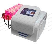 Wholesale 2017 NEW Lipolaser slimming machine for fat melting nm wavelength laser fat reduction machine laser anti cellulite machine GLO206