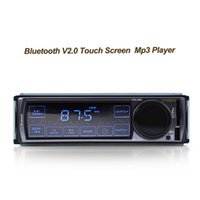 Wholesale High Quality Bluetooth V Car Stereo FM Car Radio bluetooth MP3 Audio Player Support Phone USB SD Car dvd RADIO In Dash DIN
