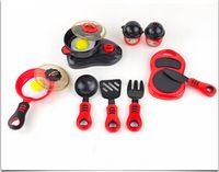 Wholesale Simulation of kitchen toys set tableware children s toys creative educational toys