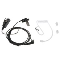 audio wiring kit - wire Coil Earbud Audio Mic Surveillance Kit for Motorola Two way Radio