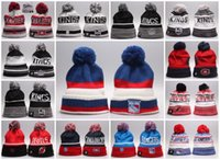 Wholesale Baseball Beanies High Quality Los Angeles Kings Montreal Canadiens New Jersey Devils New York Rangers Mixed Sale for Men