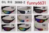 achat en gros de lunettes d'équitation en miroir-MOQ = 20PCS Les nouveaux hommes montants colorés de vent de vélo de cyclisme Lunettes de soleil miroir Sport Femmes Outdoor Eyewear 9colors Goggles FREE SHIPping