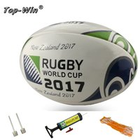 american pools - 2017 world cup Rugby Ball American Football Pool Swimming Beach Beach Pool with ball pump net bag needle
