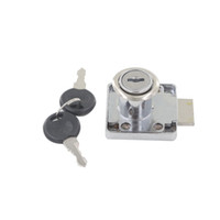 Wholesale 1pc Drawer Lock mm Cylinder Dia mm mm mm Cylinder Length With Keyed Alike Different Keys for Cabinet Cupboard Box