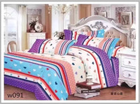 Wholesale 100 Natural colored cotton Washable Bedding Set Cover And Pillow Four Set Bedding Four Piece Of Suite Home Bedding Cover