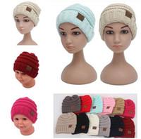 Cheap Unisex CC womens hats mens hats Best Spring / Autumn Crochet Hats winter hats caps