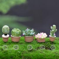 Wholesale 1Pc Plant DIY Resin Fairy Garden Craft Decoration Miniature Micro Gnome Terrarium Gift F0032