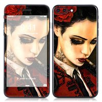 Wholesale Colorskin stickers apple iPhone7Plus5 inch mobile phone protection color paste before and after the cartoon stickers