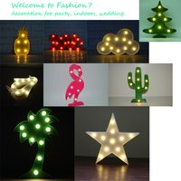 Wholesale Free DHL Lighting for Christmas Festival Indoors a Gift for Friendd Family Child Birthday Decoration Indoor Lighting Wedding Light
