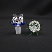 big blue octopus - New Arrvie High Quality Big Bowls octopus Model mm In Color Blue Green For Glass bong bongs water pipes bubbler water bong