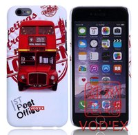apple buses - Vodex cases London red double decker bus Apple water paste mobile phone shell embossed iPhone7 p p