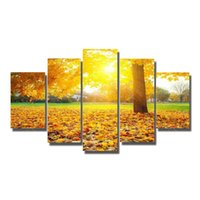 abstract art gallery - New decorative design printed oil paintings wall hanging decoraion landscape oil painting on canvas large size painting art gallery
