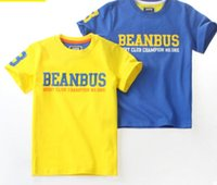 Wholesale Summer short sleeved children s T shirt time letters new hot