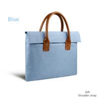 australia brand handbag - Luxury Brand Waterproof Fashion For Apple Macbook inch laptop bag Women Handbag Shoulder Notebook bag