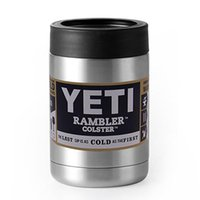 Wholesale Yeti oz oz oz Cups Cooler YETI Rambler Tumbler Travel Vehicle Beer Mug Double Wall Bilayer Vacuum Insulated Colster Rambler Mug