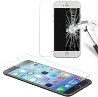 Wholesale Tempered Glass Film Screen Protector For iPhone7 plus iPhone6s s samsung galaxy HUAWEI LG XIAOMI Transparent membrane D H with packag