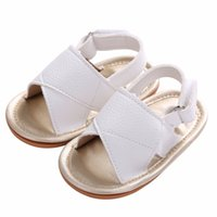 baby boy christening shoes - White Solid Soft Sole PU Leather Baby Boy First Walkers Shoes Non slip Chaussure Bebe Menino Christening Photography Props
