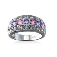 Wholesale Europe and the United States fashion jewelry ladies zircon ring creative jewelry gifts