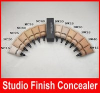 Wholesale NEW makeup mc SELECT COVER UP CACHE CERNES concealer liquid Foundation NC15 NW45 ML Liquid Concealer Makeup Face