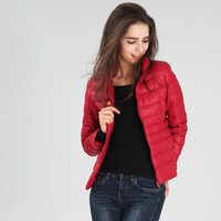 Wholesale 2016 Women s winter down jacket size S M L XL XL XL Style casual Thickness Thin colors available