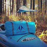 Дешевый Дерево палатки-Треугольный палаточный треугольник, висящий в дереве палатки. Полет двух человек с двойным гамаком со съемной ливнем.