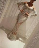 al por mayor vestidos de zoe-Vestido de noche Yousef aljasmi Labourjoisie Pantalones largos Gafas de sol Charbel zoe Kylie Jenner Kim kardahisn Zuhair murad Vestido de celebridad
