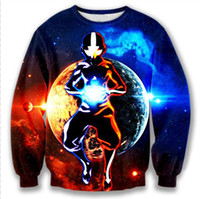 No avatar cartoon characters - The Avatar State Crewneck Pullovers Men Women Long Sleeve Outerwear Galaxy Sweatshirts Cartoon Avatar D Sweatshirt Sportswear