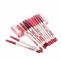 Wholesale CM Colors Set Maquiagem Waterproof Lip Liner Pencil Women s Professional Long Lasting Lipliner Lips Makeup Tools