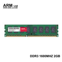 al por mayor 2gb dimm-ARM Ltd DDR3 2GB 1600Mhz 1333Mhz para memoria de escritorio CL9-CL11 1.5V DIMM RAM 1333 4G 2GB 1600 Garantía de por vida