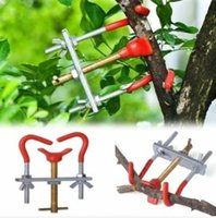 Manual free garden tools - Inch Gardening Bonsai Fruit Tree Branch Mini Bender Carbon Steel Jack Potted Landscape Modelling Tool