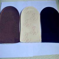Wholesale Self Tanner Applicator Mitt of Tanning Lotion Spray Tan for Bronzer Soft Velvet can be reusable