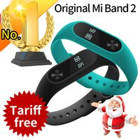 Wholesale Hot Selling Original Xiaomi Mi Band Miband Band2 Wristband Bracelet with Smart Heart Rate Fitness Touchpad OLED