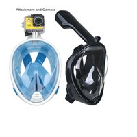 best dive mask - Best price easy breath training mask degree full face scube snorkel silicone diving mask for adults