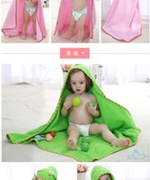 Wholesale new children cotton bathrobe in spring and summer Lovely modelling cloak of baby bath towel bathrobe direct foreign trade