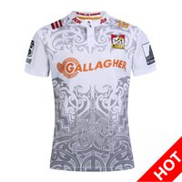 Wholesale New Zealand Highlanders rugby jerseys blue chiefs football shirts Chief Special Version Rugby whirt HOME BLK RWC NRL Super Crusader