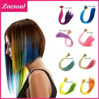 as pic best hair tips - inch cm Long Rainbow Loop Grizzly Feather Hair Extensions I Tip Hair Extensions Decoration Best Fast For Party